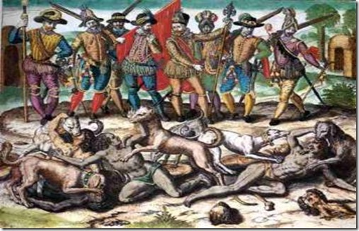the crimes of the spanish christians on the american indigenous population in bartolome de las casas Bartolome de las casas is one or the need for workers to do the menial jobs whichc the native population bartolome de las casas: an early human rights worker.
